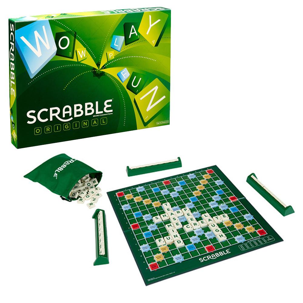 Scrabble Original Juego De Mesa En Familia Seleccion Equipo Wanatoy
